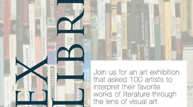 Ex Libris: 100 Artists, 100 Books: Axis Gallery- March 6th, 2014