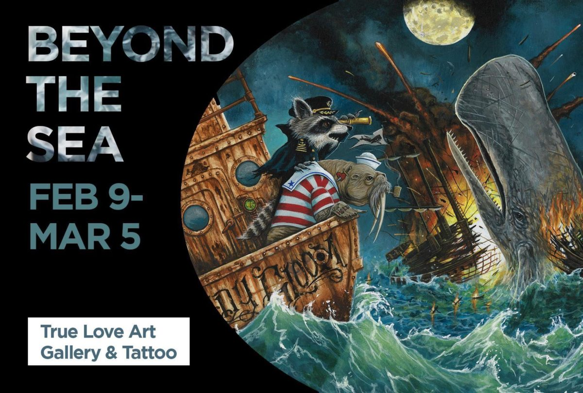Beyond the Sea -True Love Art Gallery: February 9th, 2017