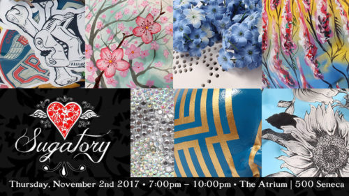 Sugatory Fundraiser -ArtReach WNY: November 2, 2017